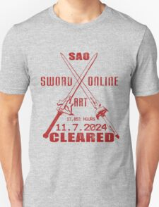 SAO Cleared (Asuna Red Version) T-Shirt