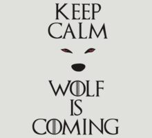 Keep calm wolf is coming - Game of Thrones T-Shirt