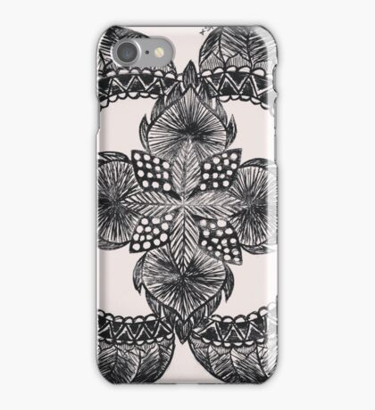 Oriental flower iPhone Case/Skin