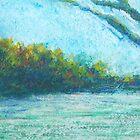 Quiet Evening (pastel) by Niki Hilsabeck