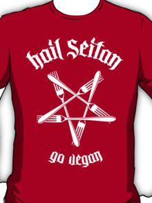 Hail Seitan 1.1 (white) T-Shirt
