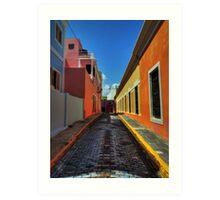 Puerto Rico - Old San Juan 009 Art Print
