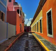 Puerto Rico - Old San Juan 009 by Lance Vaughn