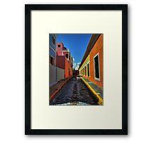 Puerto Rico - Old San Juan 009 Framed Print