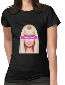 Faux Real Womens Fitted T-Shirt