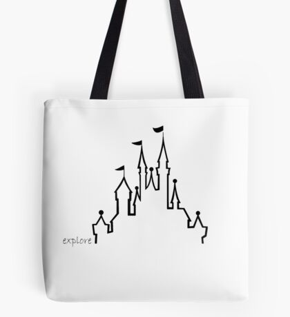 Castle - Explore Series Tote Bag