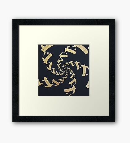 Dhikr (Remembrance) Framed Print