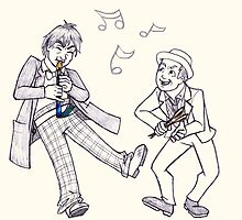 The Doctors Jamming by SonjaArts