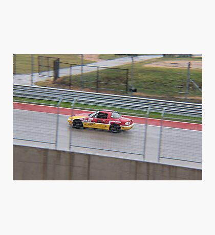 Racing at COTA with Team ROADKILL Photographic Print