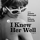 I Knew Her Well Movie Poster by Simon Gentleman