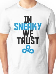 In Sneaky we trust Unisex T-Shirt