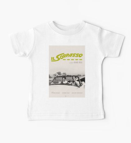 Il Sorpasso Movie Poster Baby Tee