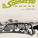 Il Sorpasso Movie Poster by Simon Gentleman