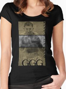 "Gennady ""GGG"" Golovkin Women's Fitted Scoop T-Shirt"