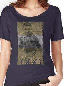 """Gennady """"GGG"""" Golovkin Women's Relaxed Fit T-Shirt"""