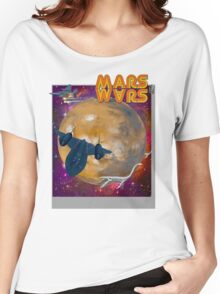 Super Mars Wars. Women's Relaxed Fit T-Shirt