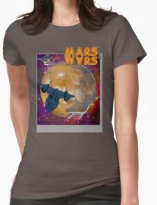 Super Mars Wars. Womens Fitted T-Shirt