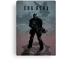 Legends of Gaming - COG Geart Canvas Print