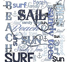 Beach Quotes & Sayings Photographic Print
