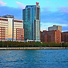 Hoboken On The Hudson by pmarella