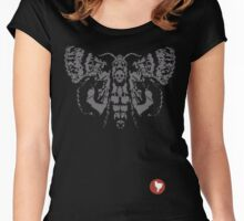 Butterfly 2 Women's Fitted Scoop T-Shirt