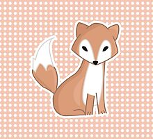 Red Fox lllustration by PatiDesigns