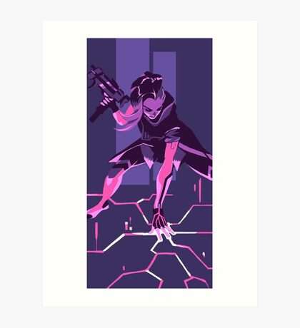 Sombra Hacker Art Print