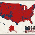2016 Election Results by FinlayMcNevin