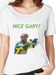 Nice Gary! - Matthew Wade Design Women's Relaxed Fit T-Shirt