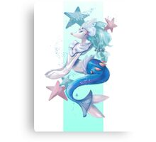 Primarina-Pokemon Canvas Print