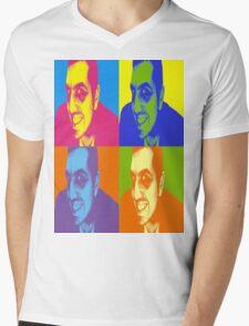 Angryjohny Mens V-Neck T-Shirt