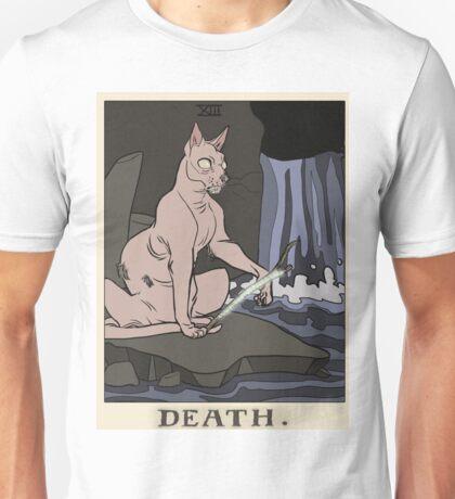 Warriors Tarot Series- Death Unisex T-Shirt