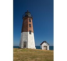 Point Judith Lighthouse Photographic Print