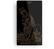 Strength Tarot Metal Print