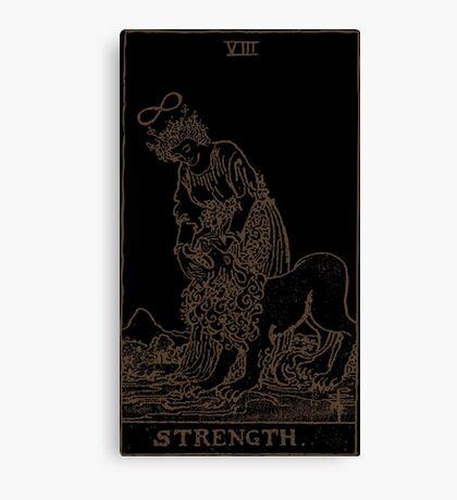 Strength Tarot Canvas Print