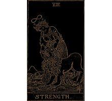 Strength Tarot Photographic Print