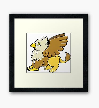 DnD Griffin Framed Print