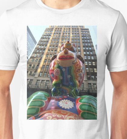 Colorful Sculptures, Broadway, New York City Unisex T-Shirt