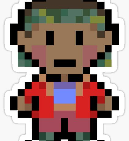 UpsideBound Lucas Sticker