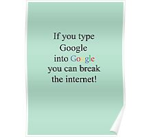 Internet & Google Poster