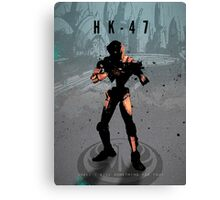 Legends of Gaming - HK47 Canvas Print