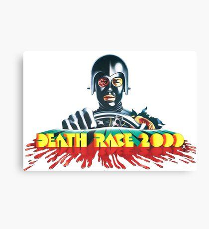 Death Race 2000 Canvas Print