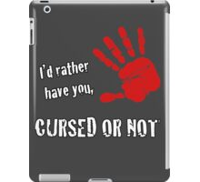 Cursed Or Not iPad Case/Skin