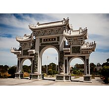 1179 Gate to the Heavenly Queen Temple Photographic Print
