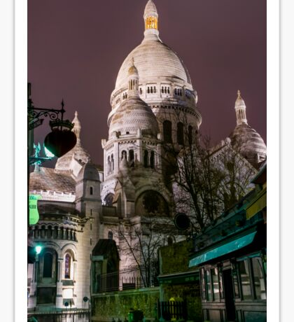 Sacre-Coeur Sticker