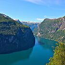 Views: 10661***. Earth Wonders -  the Gerianger Fjord . Møre og Romsdal . Norway . by Doctor Andrzej Goszcz.  by © Andrzej Goszcz,M.D. Ph.D