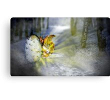 Fairy Born Canvas Print