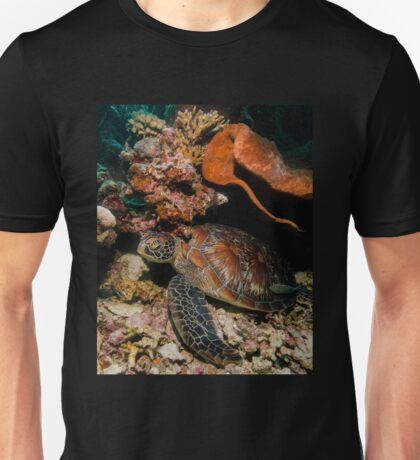 The Beauty of the Shell of a Green Turtle Unisex T-Shirt