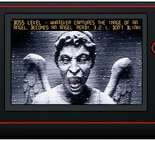 Weeping Angel Video Game by kayve