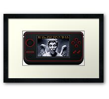 Weeping Angel Video Game Framed Print